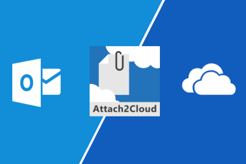 Attach2Cloud is the ideal alternative to OneDrive for Office 365 customers, because it relies on Outlook and... OneDrive!