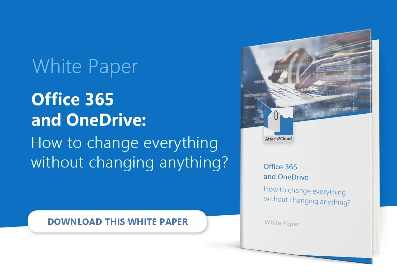 More about OneDrive and Office 365 adoption issues: Office 365 quantitative adoption vs. qualitative adoption - White Paper